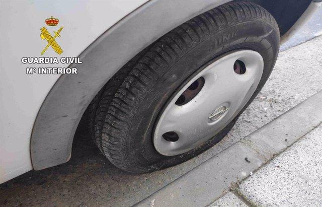 Detenidos cinco menores e investigado otro por vandalismo en vehículos en Consuegra
