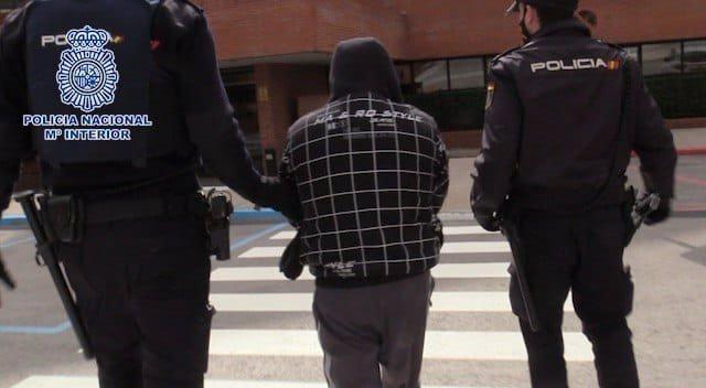 Imagen de archivo de un arresto de la Policía Nacional