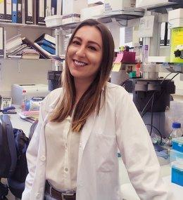 La investigadora Anna Adam