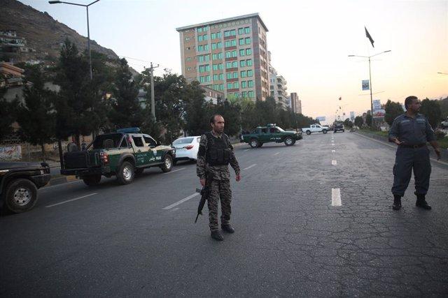 Archivo - Imagen de archivo de la Policia afgana