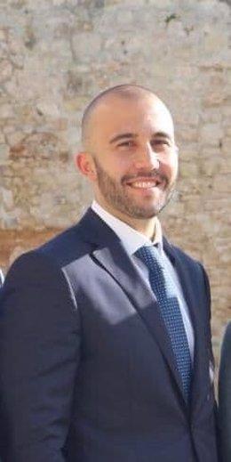 El concejal de Ciudadanos en Andratx, Ángel Hoyos.