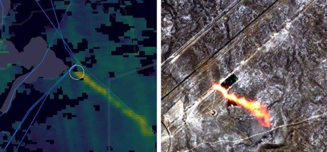 Escapes de metano en un gasoducto en Kazajstán