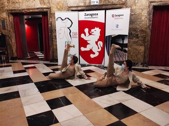 Presentación del 'IV Festival pies para qué los quiero' en el Teatro Principal de Zaragoza.