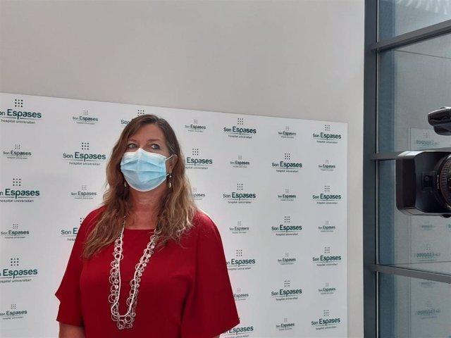 Archivo - La consellera de Salud y Consumo, Patricia Gómez.