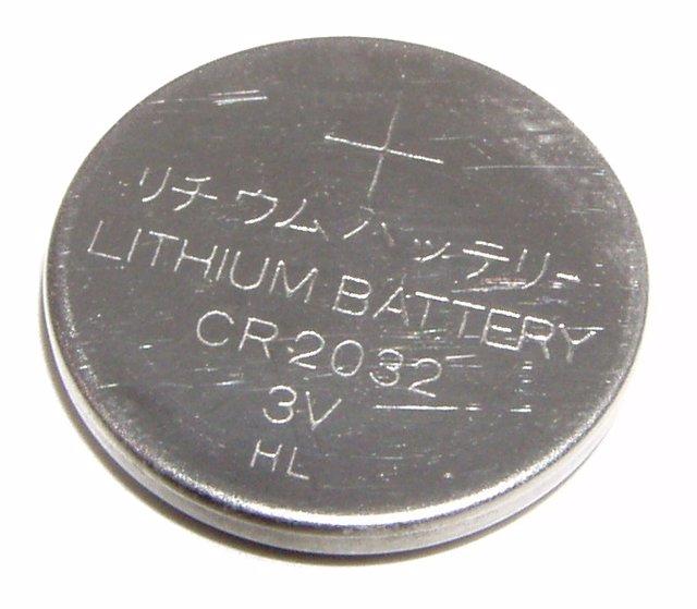 Archivo - Pila de litio