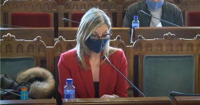 La viceconsejera de Turismo, Graciela Blanco.