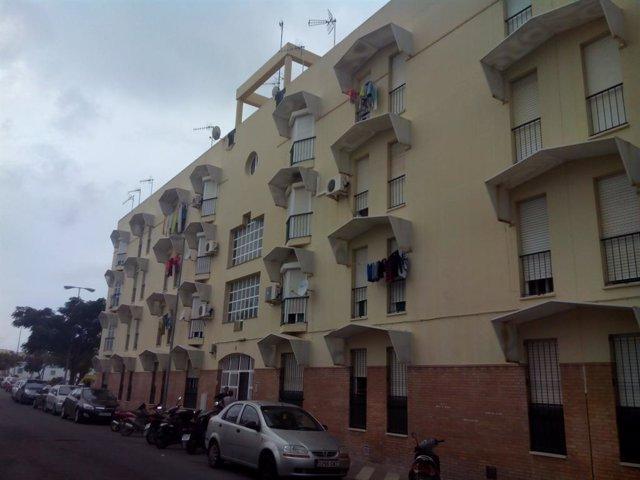Archivo - Cádiz.-Coronavirus.- Junta retoma obras en vivienda de alquiler en Cádiz, Jerez y Sanlúcar paradas por el Covid-19