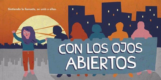 La DPZ edita 'Con los ojos abiertos', el cuento didáctico sobre empoderamiento y unión entre mujeres para el 8-M.