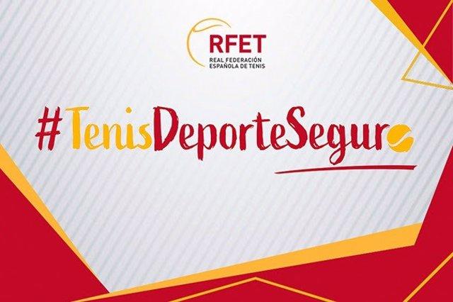 Logo de la campaña Tenis Deporte Seguro