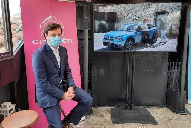 El director de la firma automovilística Citroën para España y Portugal, Nuno Marques.