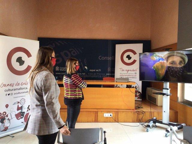Presentación del vídeo promocional del Consell de Mallorca 'La cultura da vida, da vida a la cultura'.