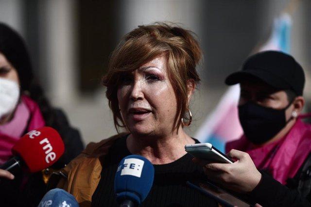 La presidenta de la Federación Plataforma Trans, Mar Cambrollé,
