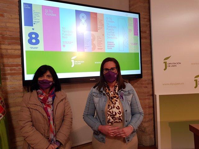 Presentación de las actividades programadas por la Diputación por el 8M.