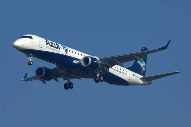 Archivo - Avión de Azul Linhas Aéreas Brasileiras