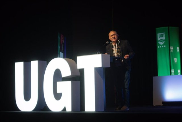 Archivo - El secretario general de UGT, Pepe Álvarez, en una imagen de archivo