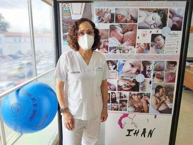 La coordinadora de la Unidad de Lactancia del Hospital Universitario Doctor Peset y presidenta de la IHAN internacional (Baby-Friendly Hospital Initiative Network), María Teresa Hernández