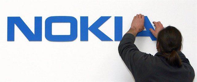 Archivo - Logo de Nokia