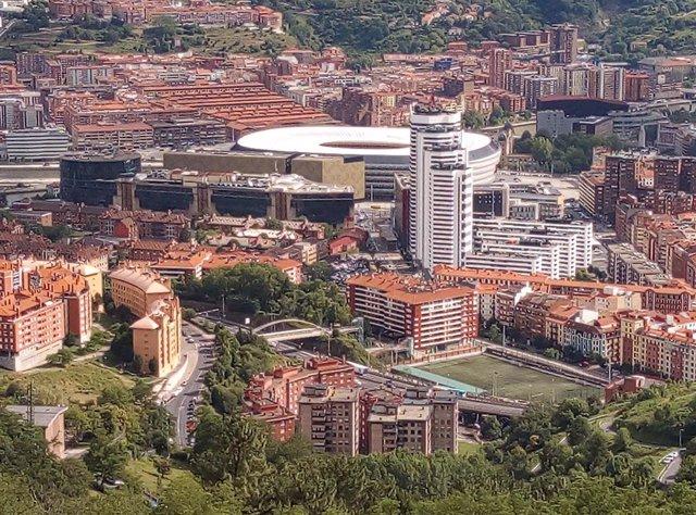 Estadio de San Mamés, en Bilbao