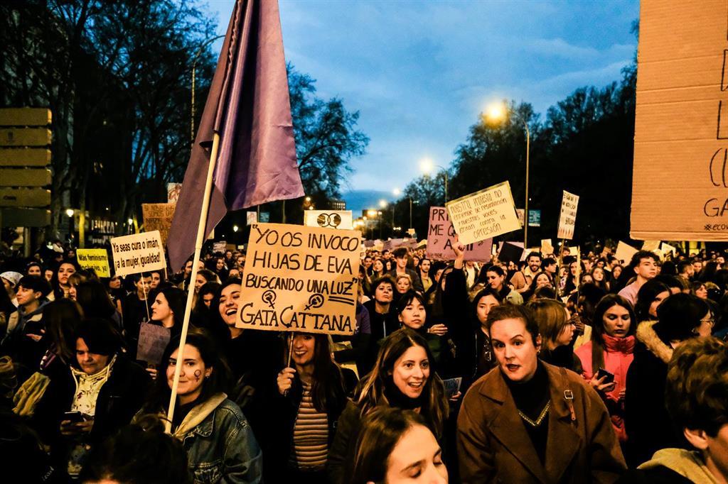 Organizaciones feministas rechazan la prohibición de celebrar el 8M en Madrid y seguirán luchando por salir a la calle