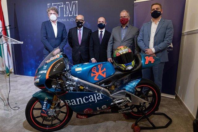 Presentación del futuro Gran Premio de Hungría de motociclismo, que tendrá lugar a partir de 2023 en un nuevo trazado