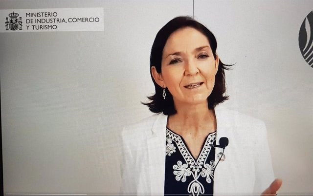 Reyes Maroto, ministra d'Indústria, Comerç i Turisme