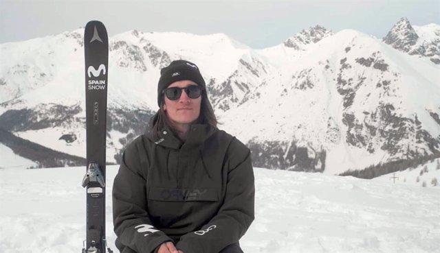 El rider Javi Lliso será uno de los dos españoles en el Mundial de Freestyle de 2021 en Aspen (Estados Unidos).