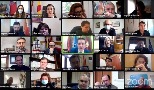 Pleno Diputación Albacete
