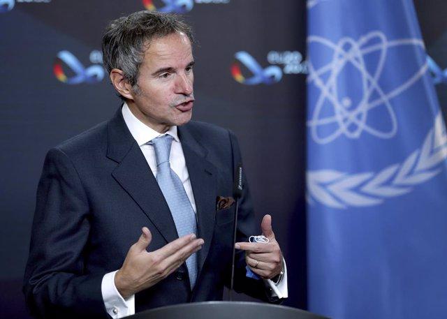 Archivo - El director general de la AIEA, Rafael Grossi