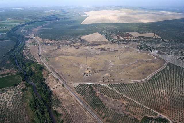 Archivo - Vista aérea de Cástulo.