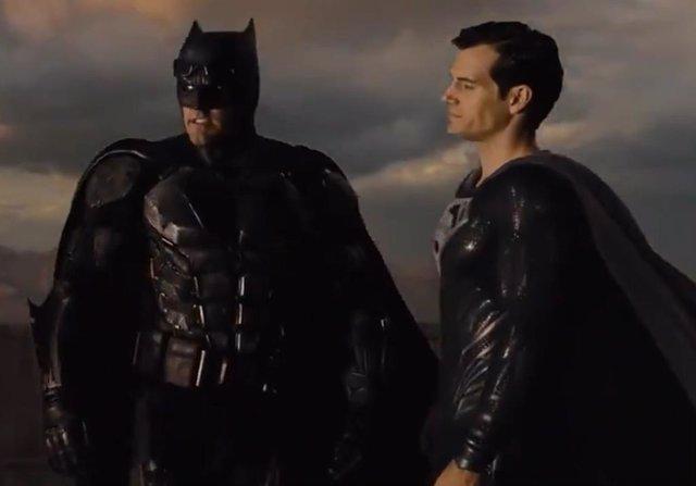 Batman y Superman en Liga de la Justicia de Zack Snyder