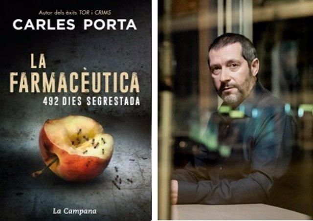 Portada de 'La farmacèutica' de Carles Porta (La Campana/Reservoir Books)