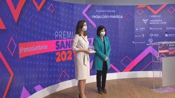 Foto: Darias destaca el refuerzo y ampliación del SNS y la construcción de la Unión Europea para la Salud como retos a futuro