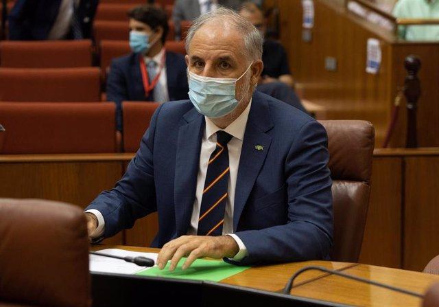 Archivo - El diputado de Vox, Macario Valpuesta, en una imagen de septiembre de 2020.