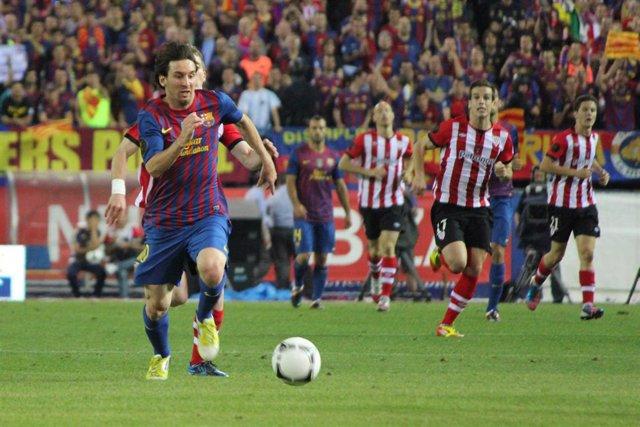 Archivo - Messi Athletic Club Bilbao Barcelona