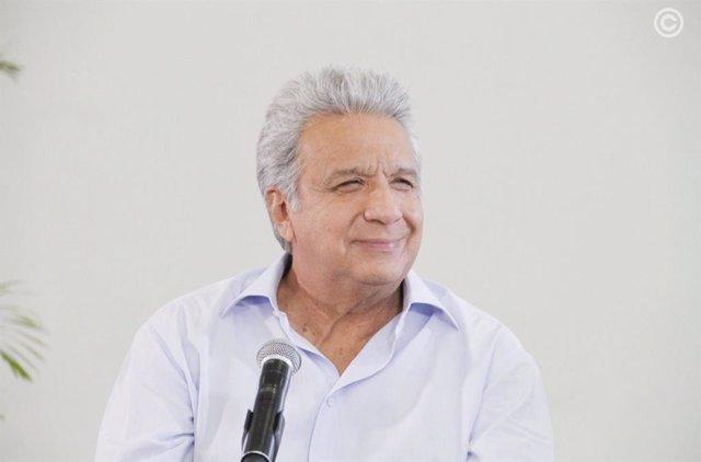 Archivo - El presidente de Ecuador, Lenín Moreno
