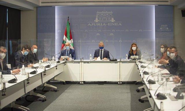 Archivo - Reunión del Consejo Asesor del LABI, presidido por el Lehendakari, Iñigo Urkullu
