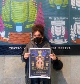 La concejala de Cultura de Torrelavega, Esther Vélez