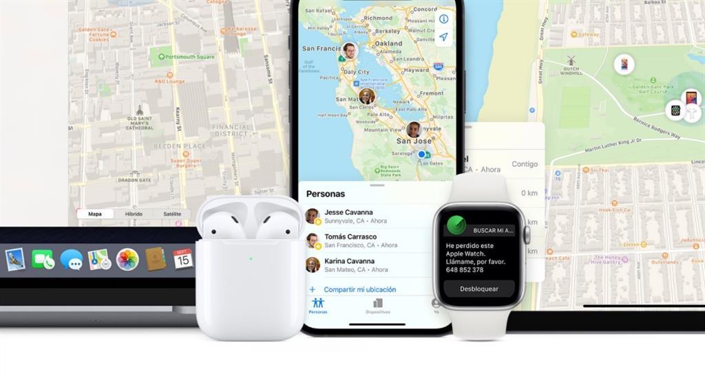 'Find My' de Apple avisará al usuario si está siendo rastreado