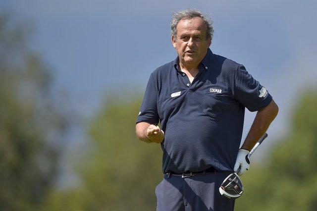 Archivo - 02 September 2019, Italy, Turin: French soccer legend and former UEFA President Michel Platini takes part in the Fondazione Vialli e Mauro charity Golf Cup. Photo: Nicolò Campo/Lapresse via ZUMA Press/dpa
