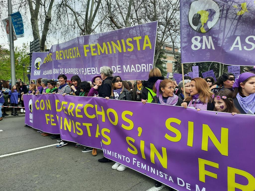 """Belarra no ve """"de recibo contribuir a criminalizar al movimiento feminista"""":""""Demostrará que está más vivo que nunca"""""""