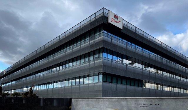 Sede de la compañía aseguradora Securitas Direct en Pozuelo de Alarcón