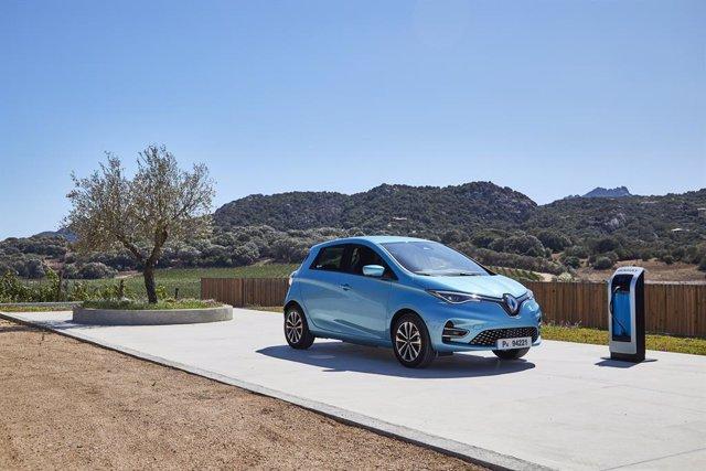 Archivo - Imagen del Renault ZOE.