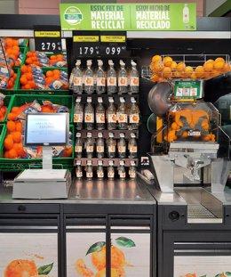 Nota De Premsa Mercadona Aposta Per Leconomia Circular Amb La Nova Ampolla Per A Suc Espremut, Reciclable I Elaborada Al 100 % Amb Plàstic Reciclat
