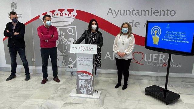 Del Cid informa de proyectos en materia tecnológica y de innovación en la Comarca de Antequera