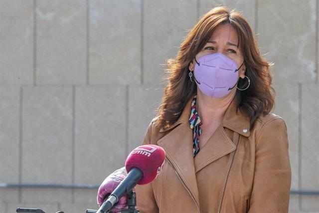 La consejera de Igualdad y portavoz del Gobierno, Blanca Fernández,
