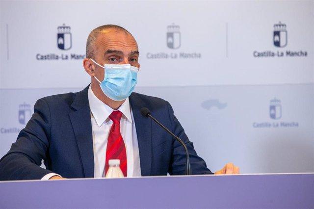 El director general de Salud Pública de Castilla-La Mancha, Juan Camacho