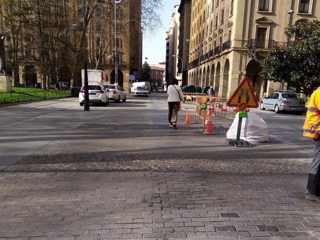 El Ayuntamiento de Pamplona realizará trabajos de mejora de la calzada en González Tablas