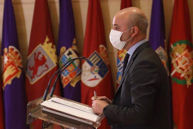 El portavoz de Ciudadanos, David Castaño.