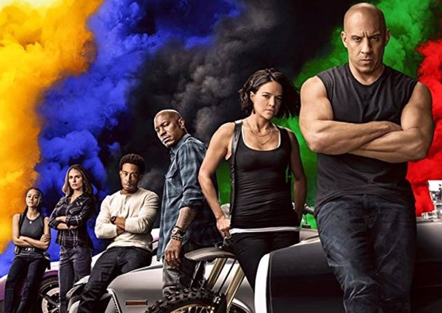 Cartel de Fast and Furious 9