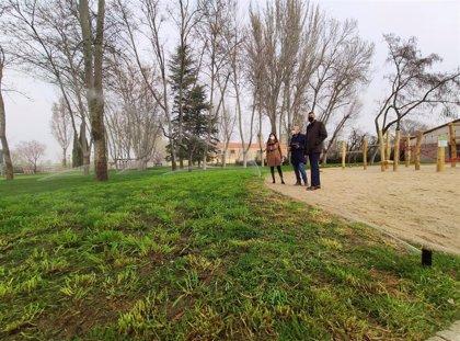El 20 por ciento de las zonas verdes de Salamanca cuenta con sensores de lluvia para evitar riego innecesario